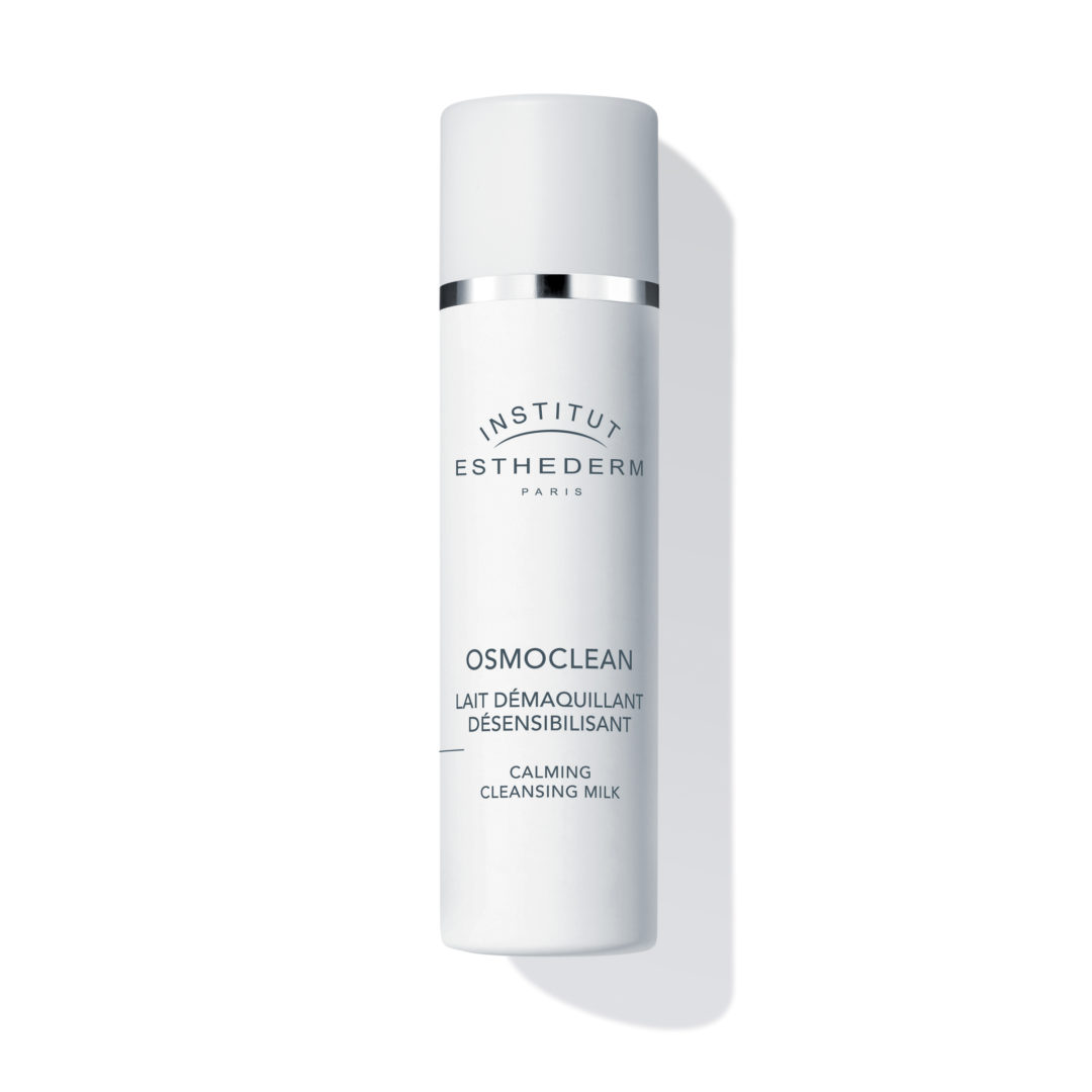 ESTHEDERM product photo, Osmoclean Calming Cleansing Milk 200ml, cleanser, makeup remover, soothing, all skin types