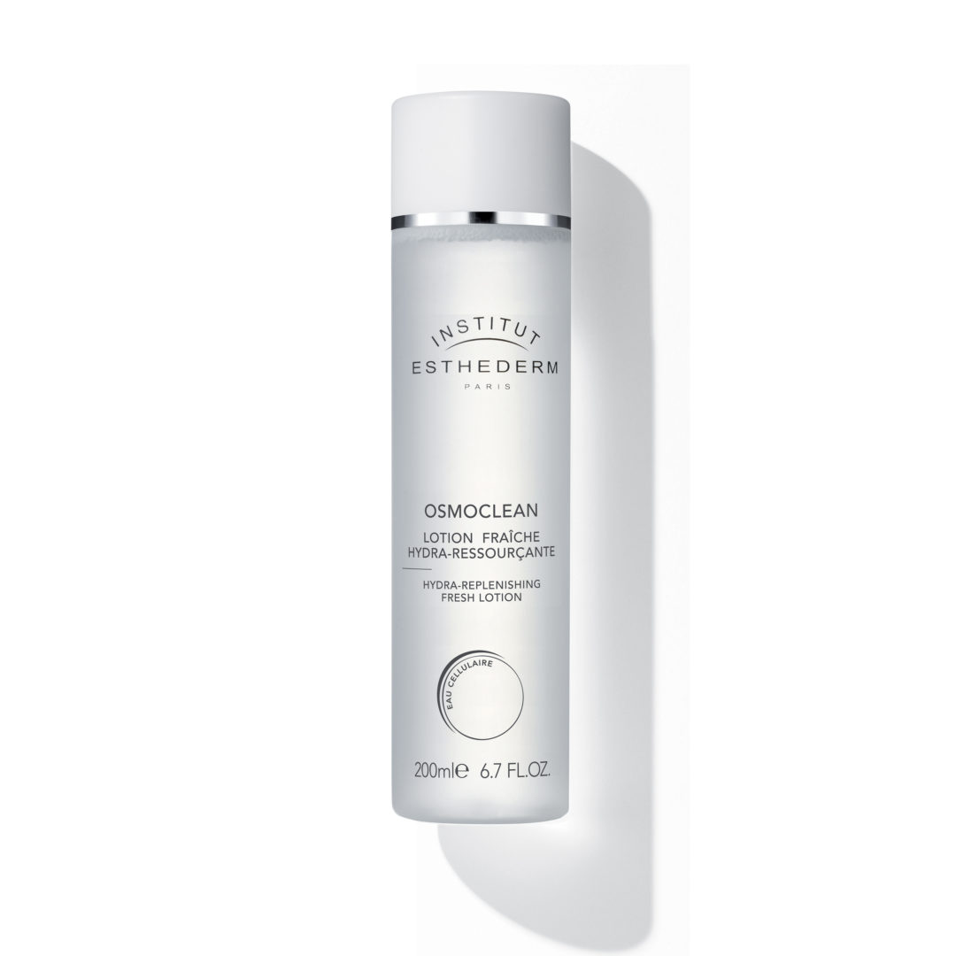 ESTHEDERM product photo, Osmoclean Hydra-Replenishing Lotion 200ml, non-rinse lotion, hydrating toner, all skin types