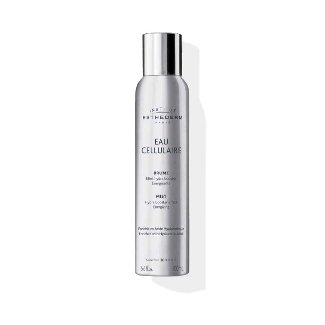 ESTHEDERM product photo, Cellular Water Mist 100ml, 200ml, facial mist, replenishing and revitalizing spray, Hyaluronic Acid