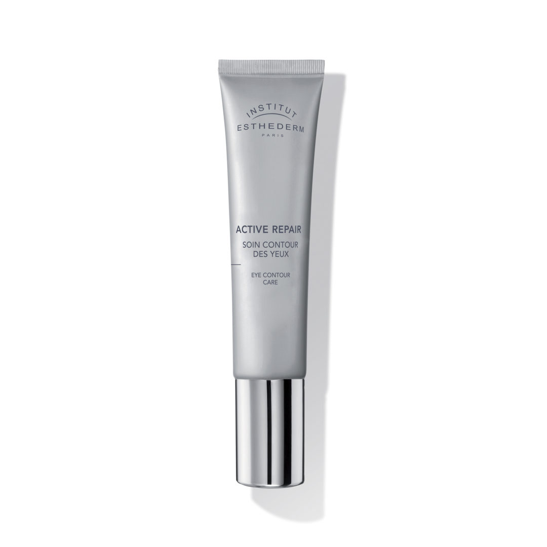 ESTHEDERM product photo, Active Repair Soin Eye Contour Care 15ml, decongesting, dark circles and puffiness, all skin types
