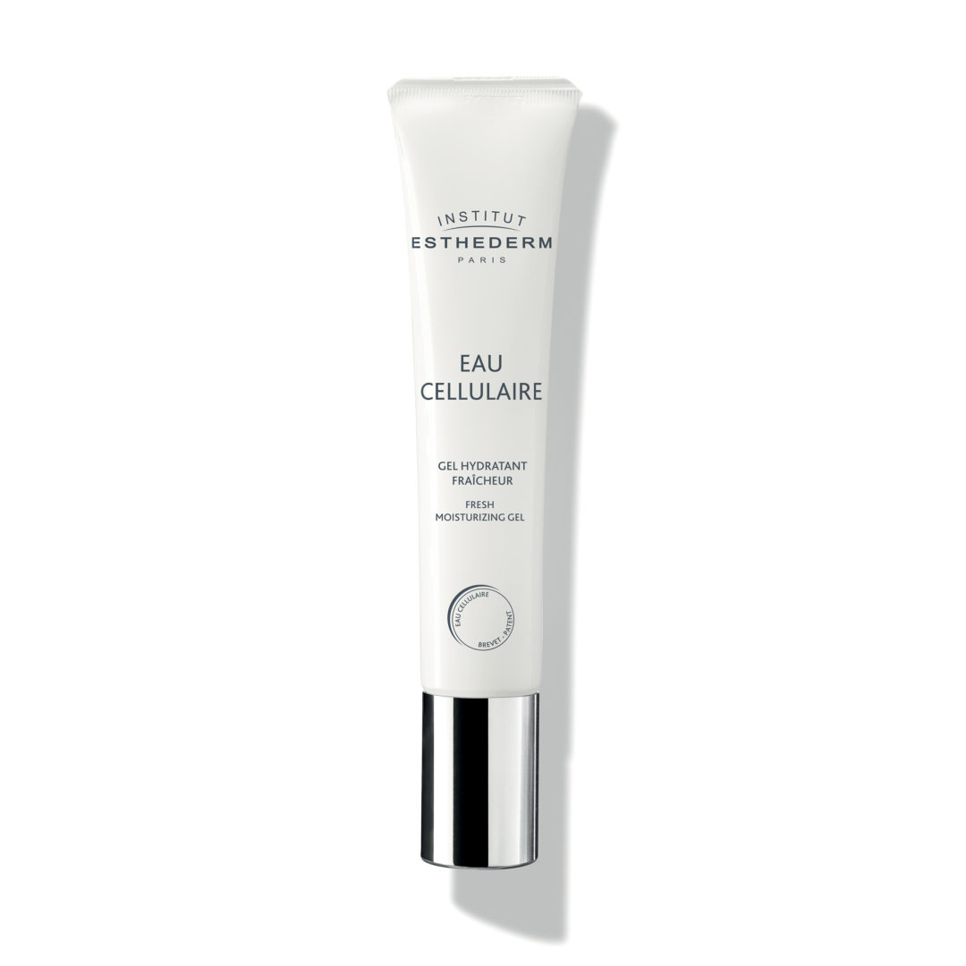 ESTHEDERM product photo, Cellular Water Gel 40ml, hydrating skin care, deep hydration, dehydrated skin, light texture