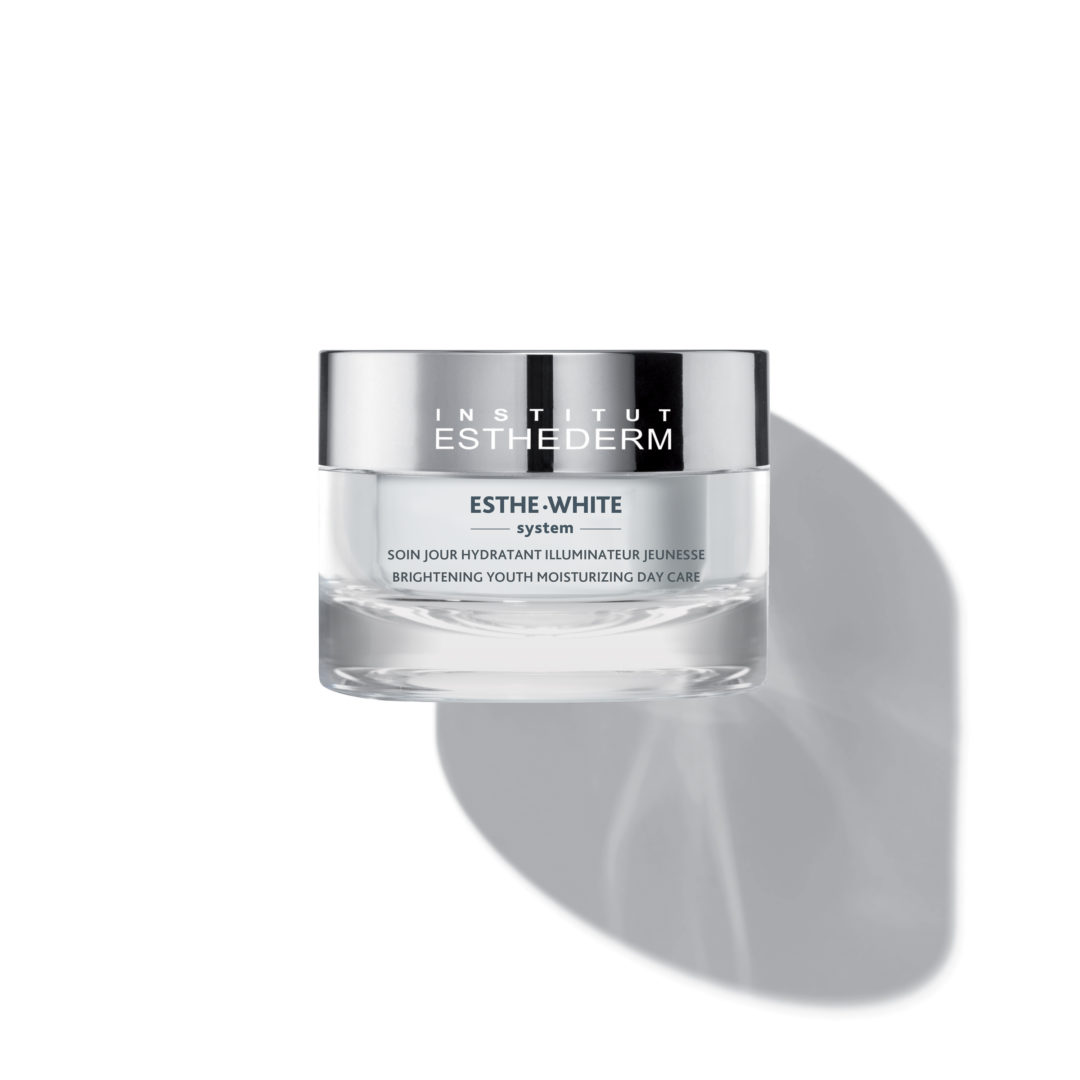 ESTHEDERM product photo, Esthe White Brightening Youth Moisturizing Day Care 50ml, reduces dark spots, even skin tone