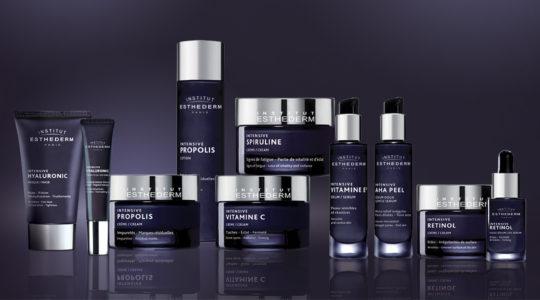 ESTHEDERM photo produit, Collection Intensive, Institut Esthederm, soin professionnel pour peau jeune, Esthederm Canada