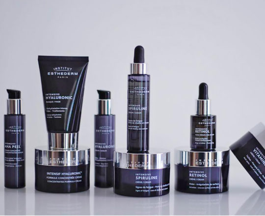 ESTHEDERM product photo, Intensive Propolis range, sérum, cream, lotion, decongesting and soothing, visible irregularities