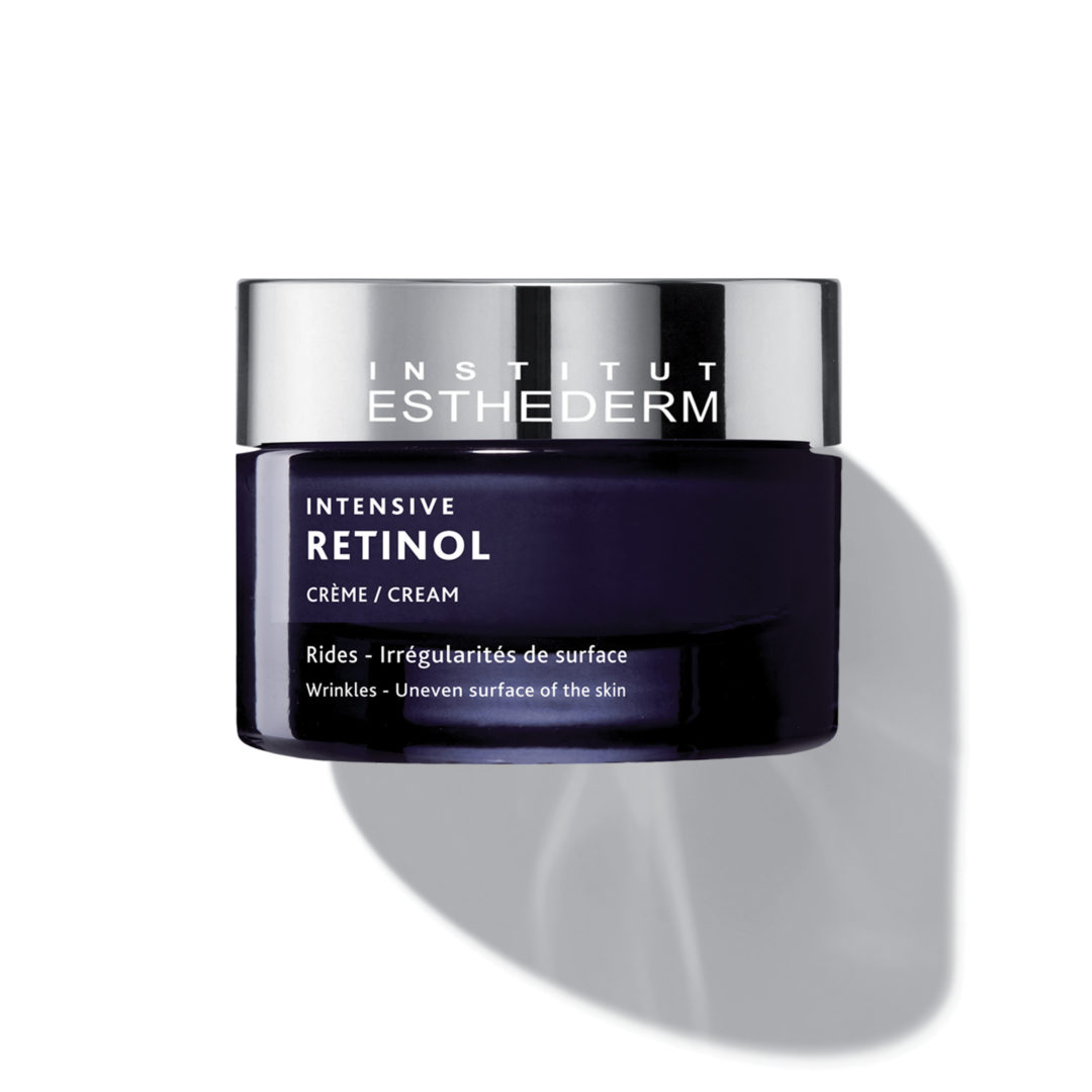 ESTHEDERM product photo, Intensive Retinol Cream 50ml, fine lines and deep wrinkles, anti-aging care, treatment for aging