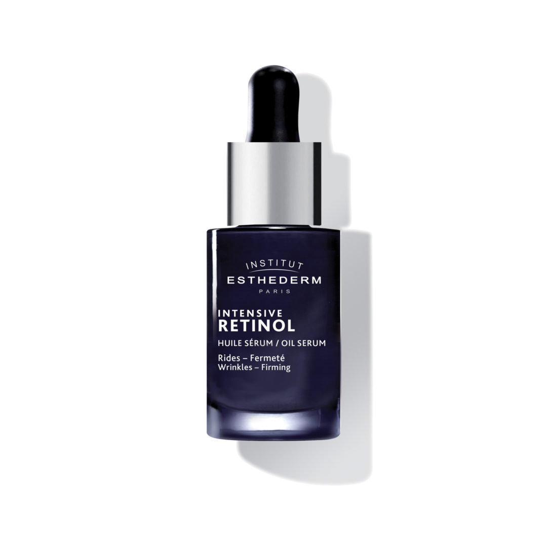 ESTHEDERM product photo, Intensive Retinol Serum 15ml, fine lines and deep wrinkles, anti-aging care, treatment for aging