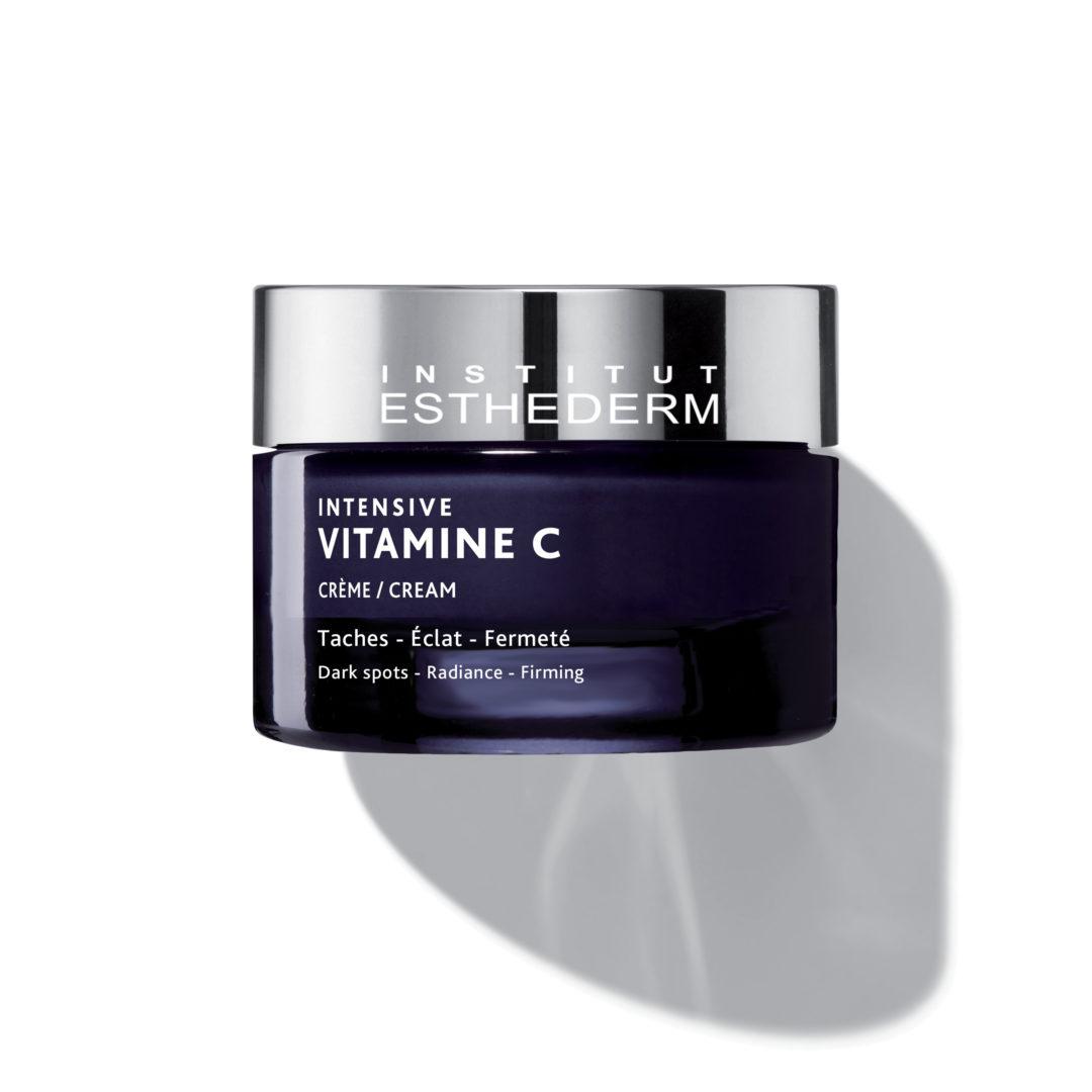 ESTHEDERM photo produit, Intensif Vitamine C Crème 50ml, haute concentration, anti-rides et hyperpigmentation, éclat