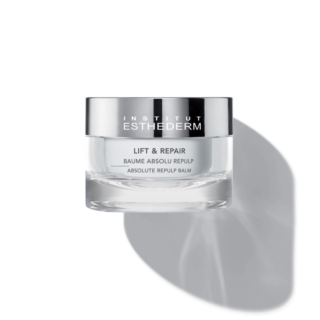ESTHEDERM product photo, Lift & Repair Absolute Repulp Balm 50ml, resculpts eyes, anti-wrinkles, lifting, decongesting