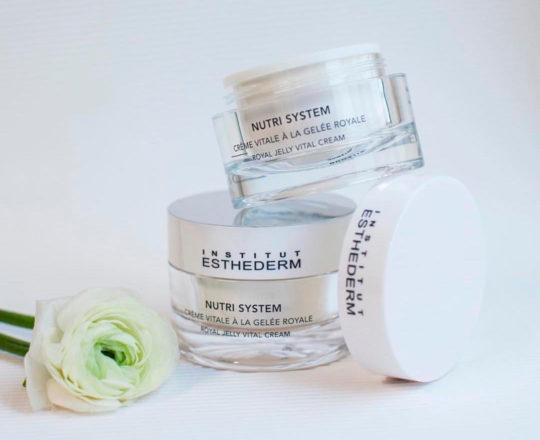 ESTHEDERM photo produit, Nutri System Crème Vitale à la Gelée Royale 50ml, soin revitalisant, éléments essentiels, nutrition
