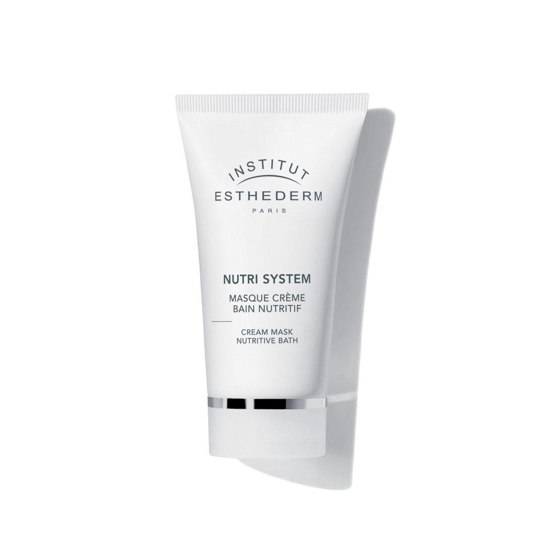 ESTHEDERM product photo, Nutri System Cream Mask Nutritive Bath 75ml, revitalizing care, essential elements, skin nutrition
