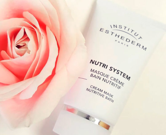 ESTHEDERM product photo, Nutri System Cream Mask Nutritive Bath 75ml, revitalizing care, essential elements, skin nutrition