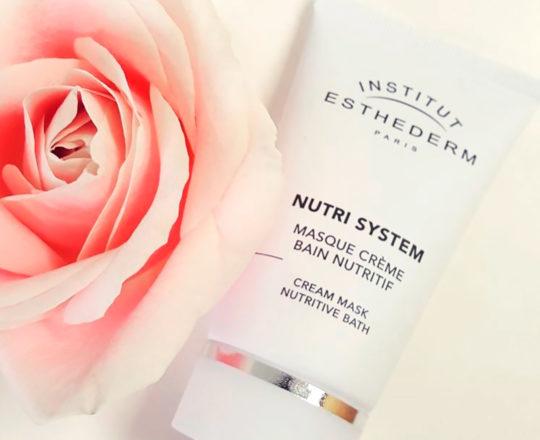 ESTHEDERM photo produit, Nutri System Masque Crème Bain Nutritif 75ml, soin revitalisant, éléments essentiels, nutrition