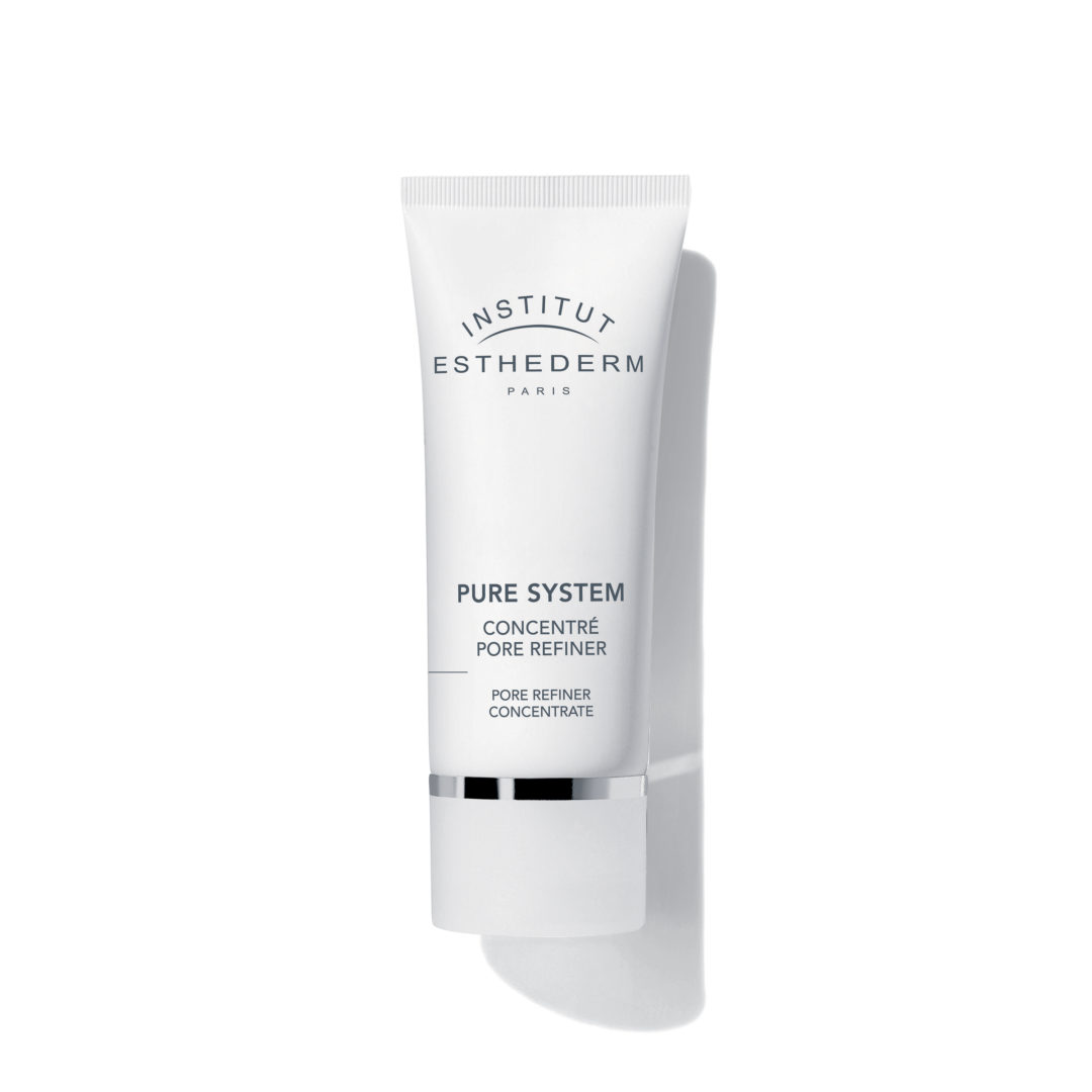 ESTHEDERM product photo, Pure System Pore Refiner Concentrate 50ml, skin perfector, skin texture refined, daily care