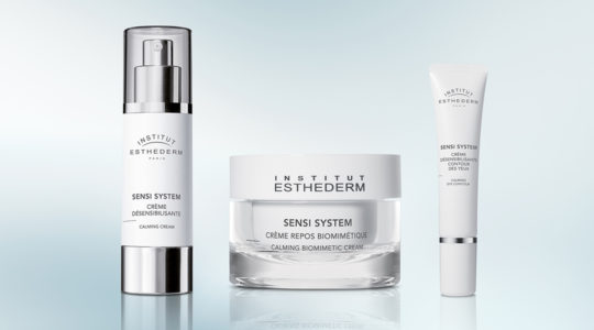 ESTHEDERM product photo, Sensi System range, cream, biomimetic care, eyes, ultra-comfortable, fragrance-free, for sensitive skin