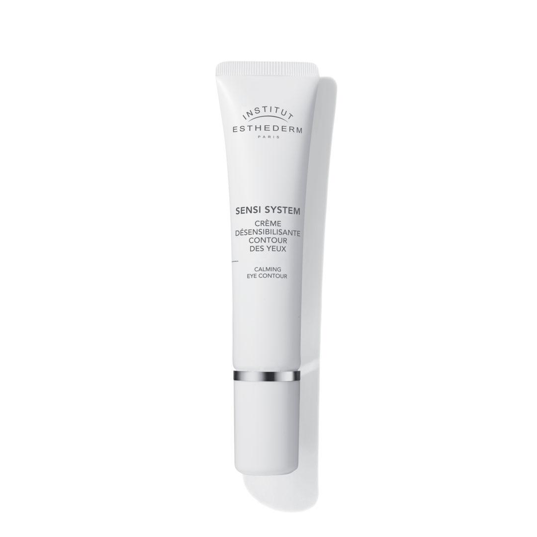 ESTHEDERM product photo, Sensi System Calming Eye Contour 15ml, ultra confortable, sans parfum, pour les peaux sensibles