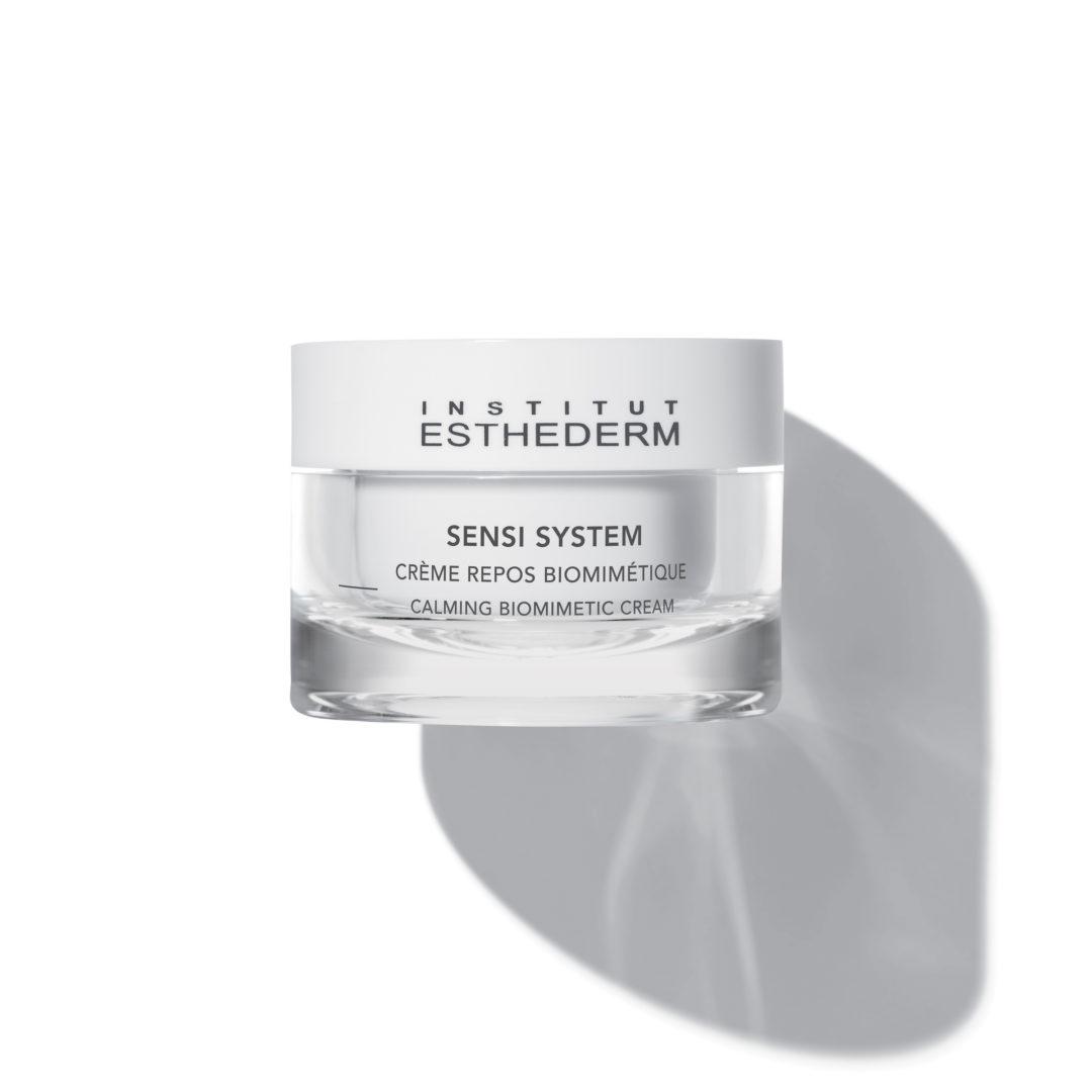 ESTHEDERM product photo, Sensi System Calming Biomimetic Cream 50ml, ultra-comfortable, fragrance-free, for sensitive skin