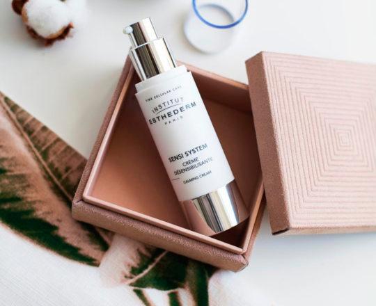 ESTHEDERM photo produit, Sensi System Crème Désensibilisante 50ml, ultra confortable, sans parfum, pour les peaux sensibles
