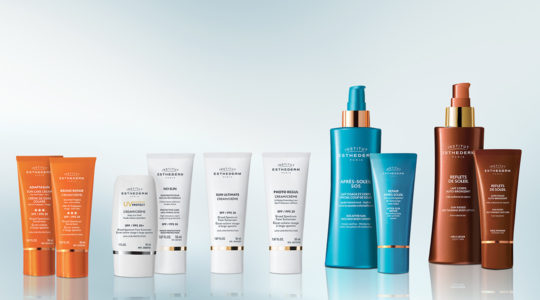 Esthederm photo produit_Sun care, protection, SPF, after sun, routine
