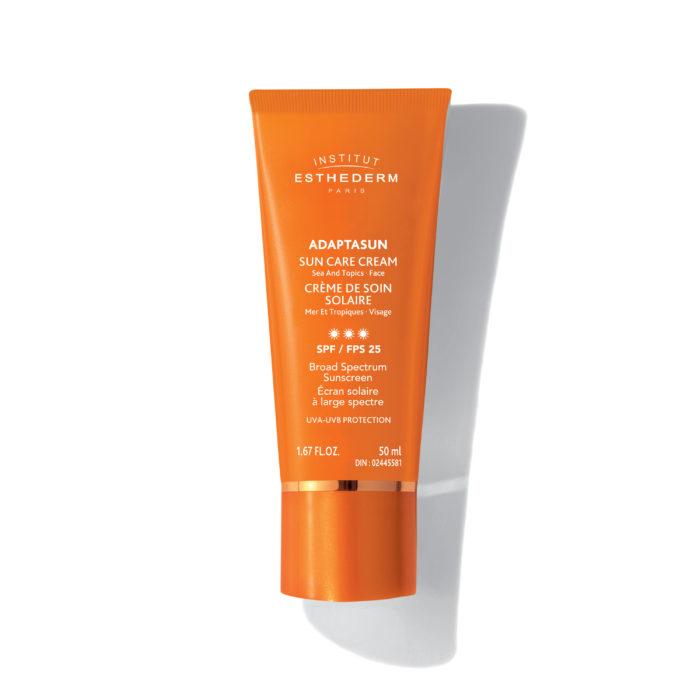 Adaptasun crème de soin solaire mer et tropique visage - fps 25