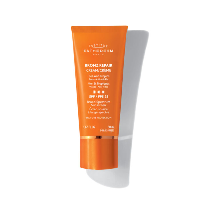 Bronz repair crème 3 soleils anti-ride visage - fps 25