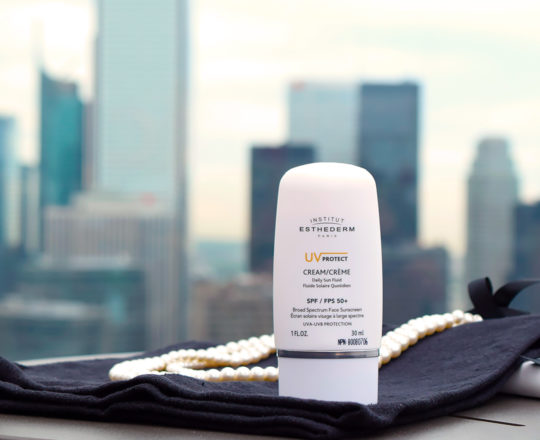 ESTHEDERM product photo, UV Protect Daily Fluid SPF 50+ 30ml, mineral-based high protection, sun care, sunscreen