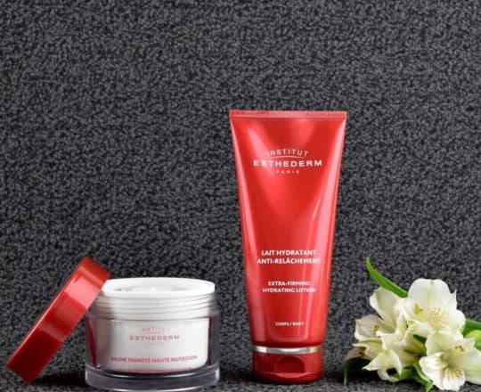ESTHEDERM product photo, Body collection, Institut Esthederm, professional skincare for youthful skin, Esthederm Canada