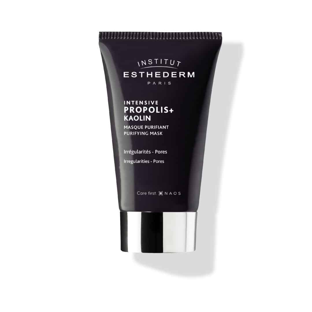 ESTHEDERM product photo, Propolis+ Purifying Mask 75ml, Kaolin, Visible Aging Signs, Irregularities, Pores, acne, fine lines