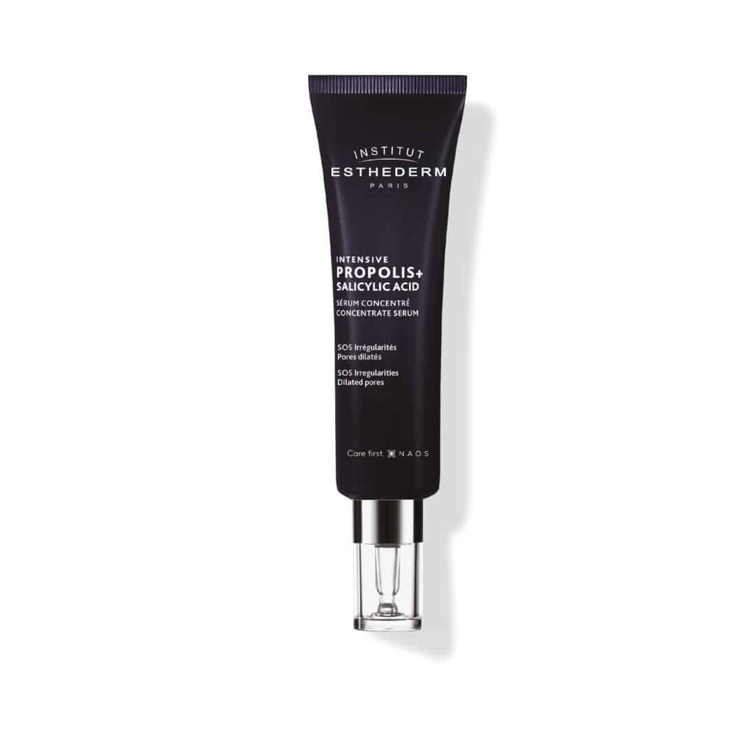 ESTHEDERM product photo, Propolis+ Serum 50ml, Visible Aging Signs, Irregularities, Wrinkles, shine, acne, Salicylic Acid