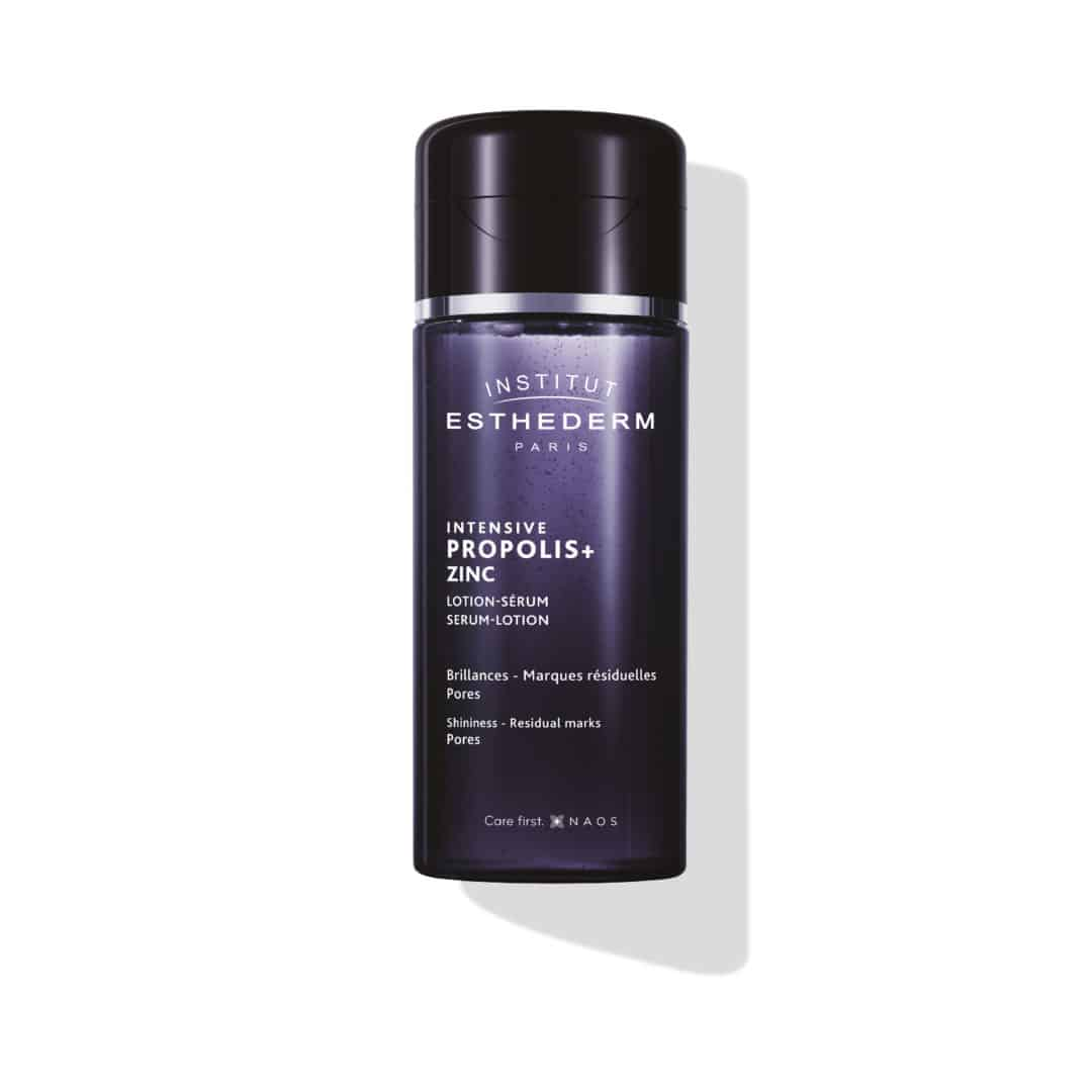 ESTHEDERM product photo, Propolis+ Serum Lotion 130ml, Zinc, Aging Signs, shine, Residual mark, Pores, acne, fine lines