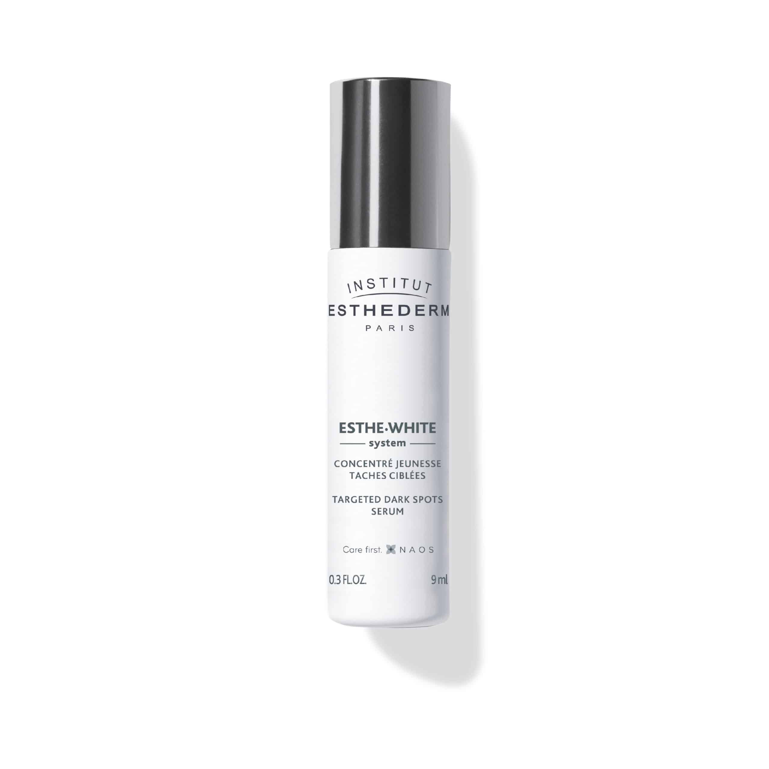 ESTHEDERM product photo, Esthe White Targeted Dark Spots Serum 9ml Roll-on, reduces dark spots, even skin tone