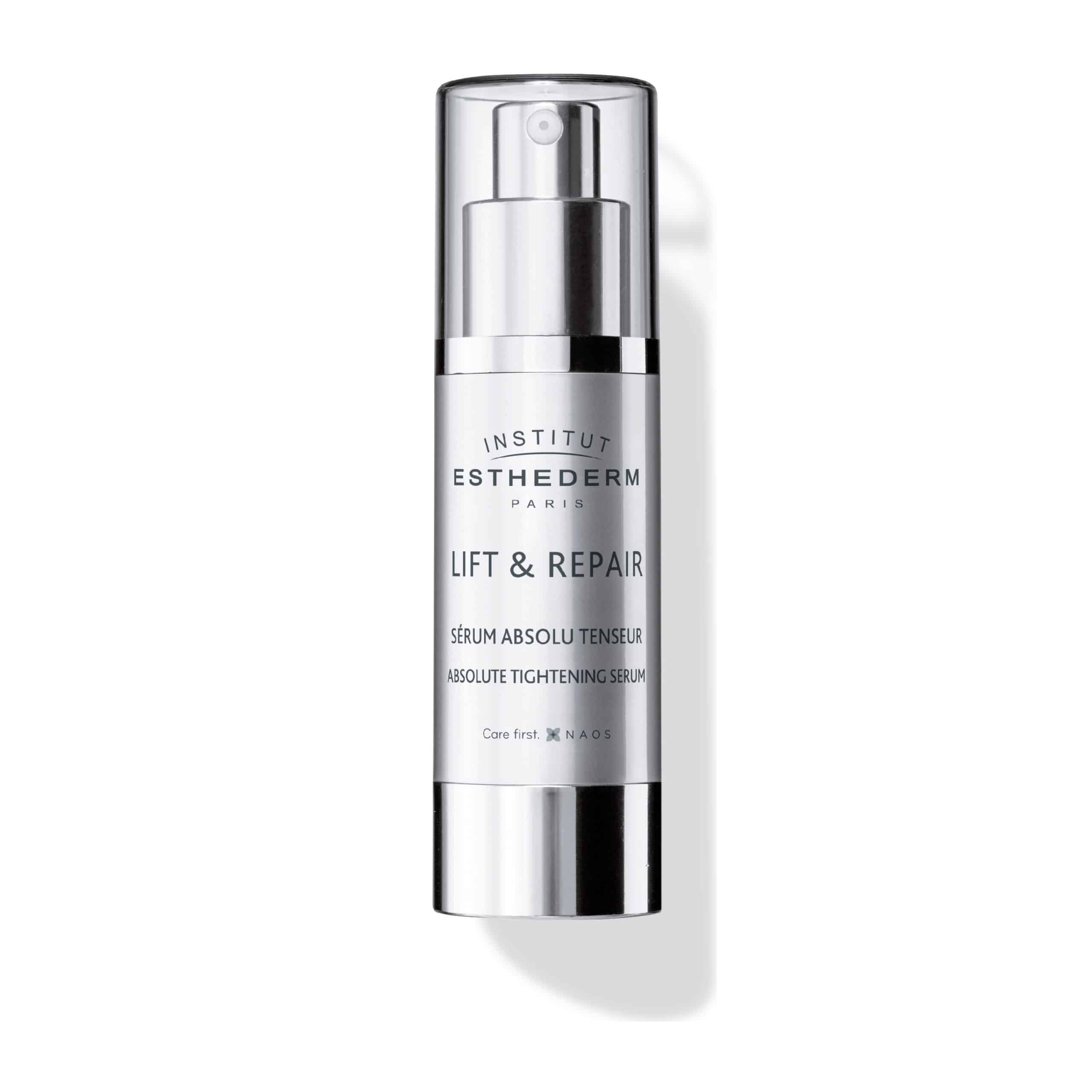 ESTHEDERM photo produit, Lift & Repair Sérum Absolu Tenseur 30ml, resculpte les contours du visage, anti-rides, lifting
