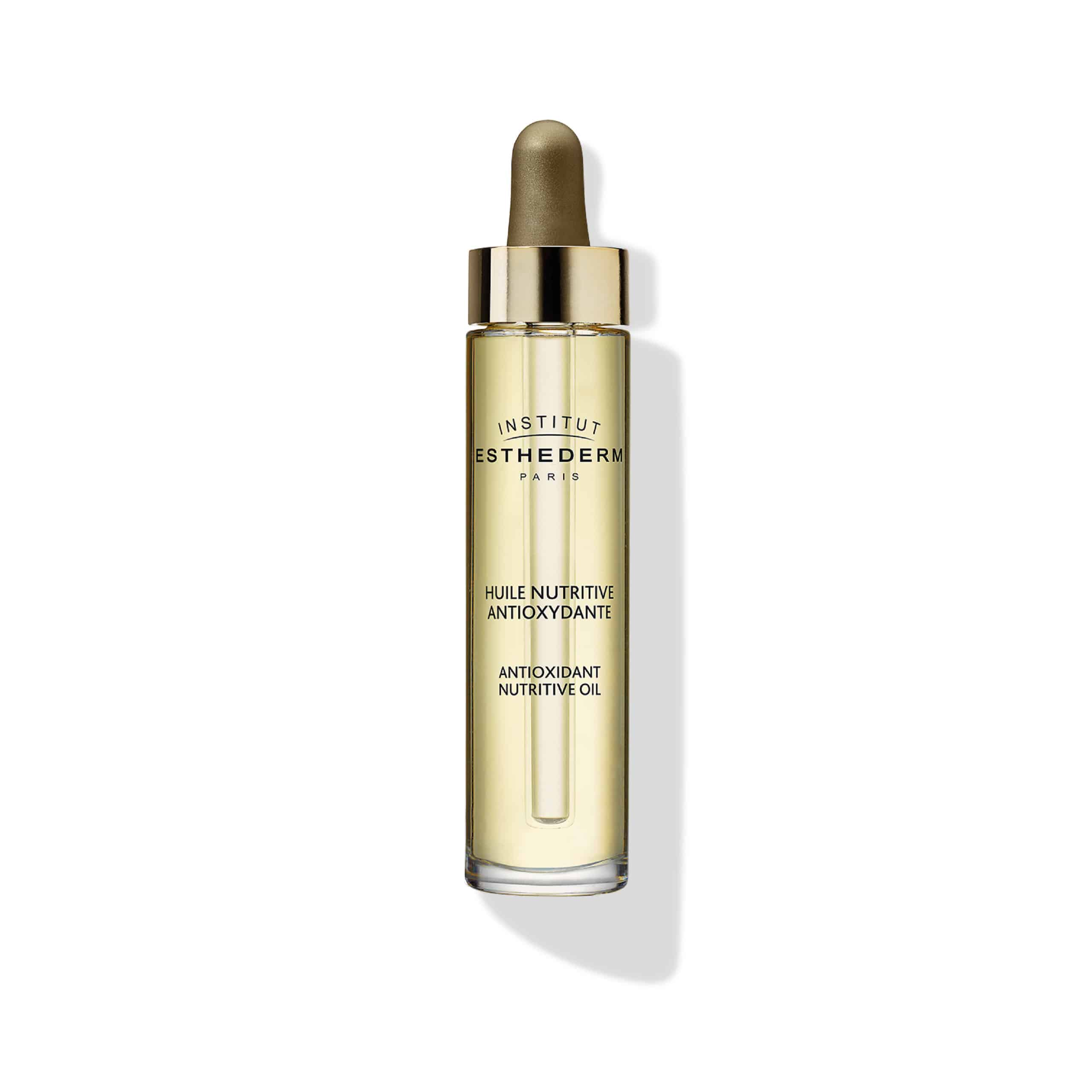 ESTHEDERM product photo, Nutri System Antioxidant Nutritive Oil 30ml, revitalizing care, essential elements, skin nutrition