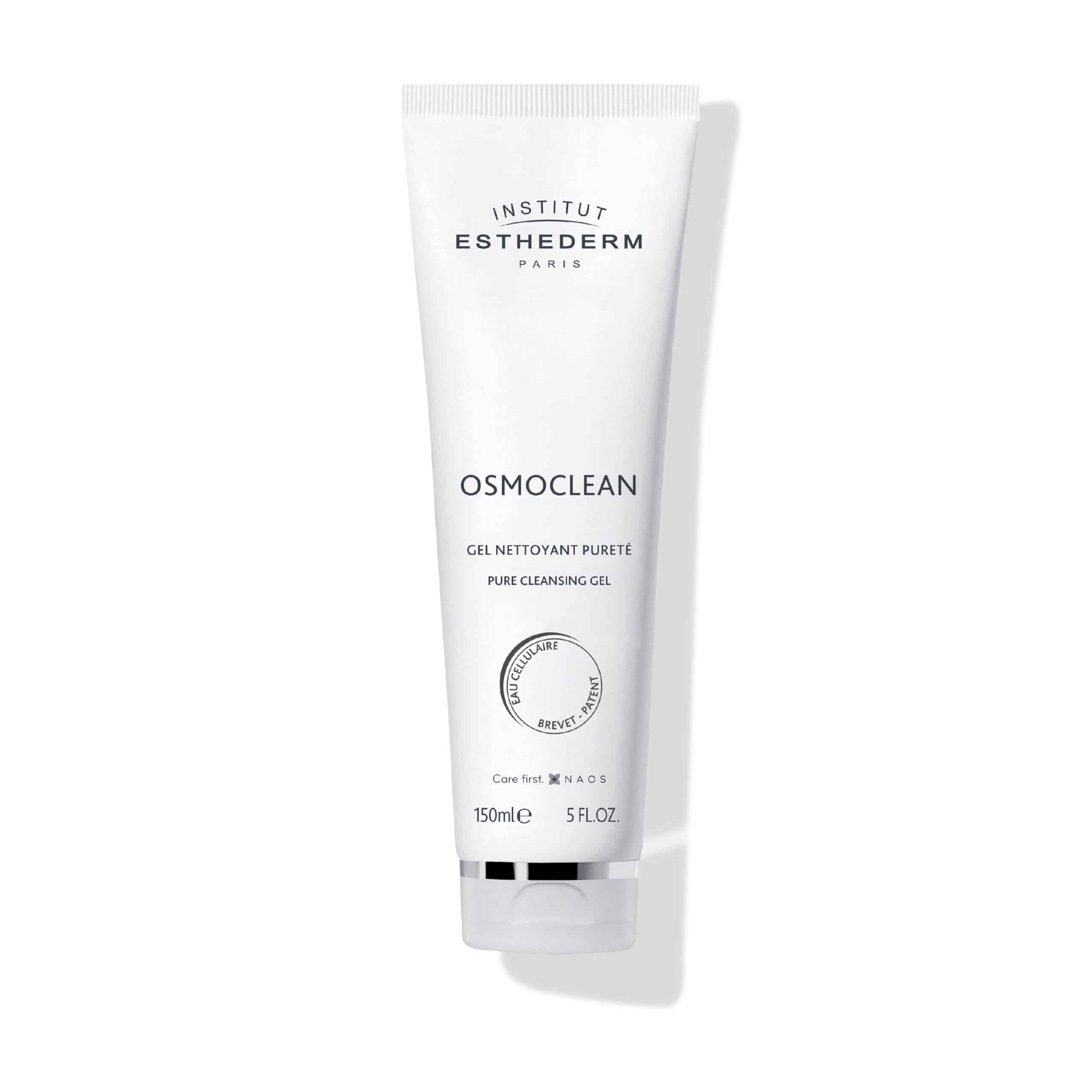 ESTHEDERM product photo, Osmoclean Pure Cleansing Gel 150ml, purifying cleanser, deep cleansing, face wash, all skin types