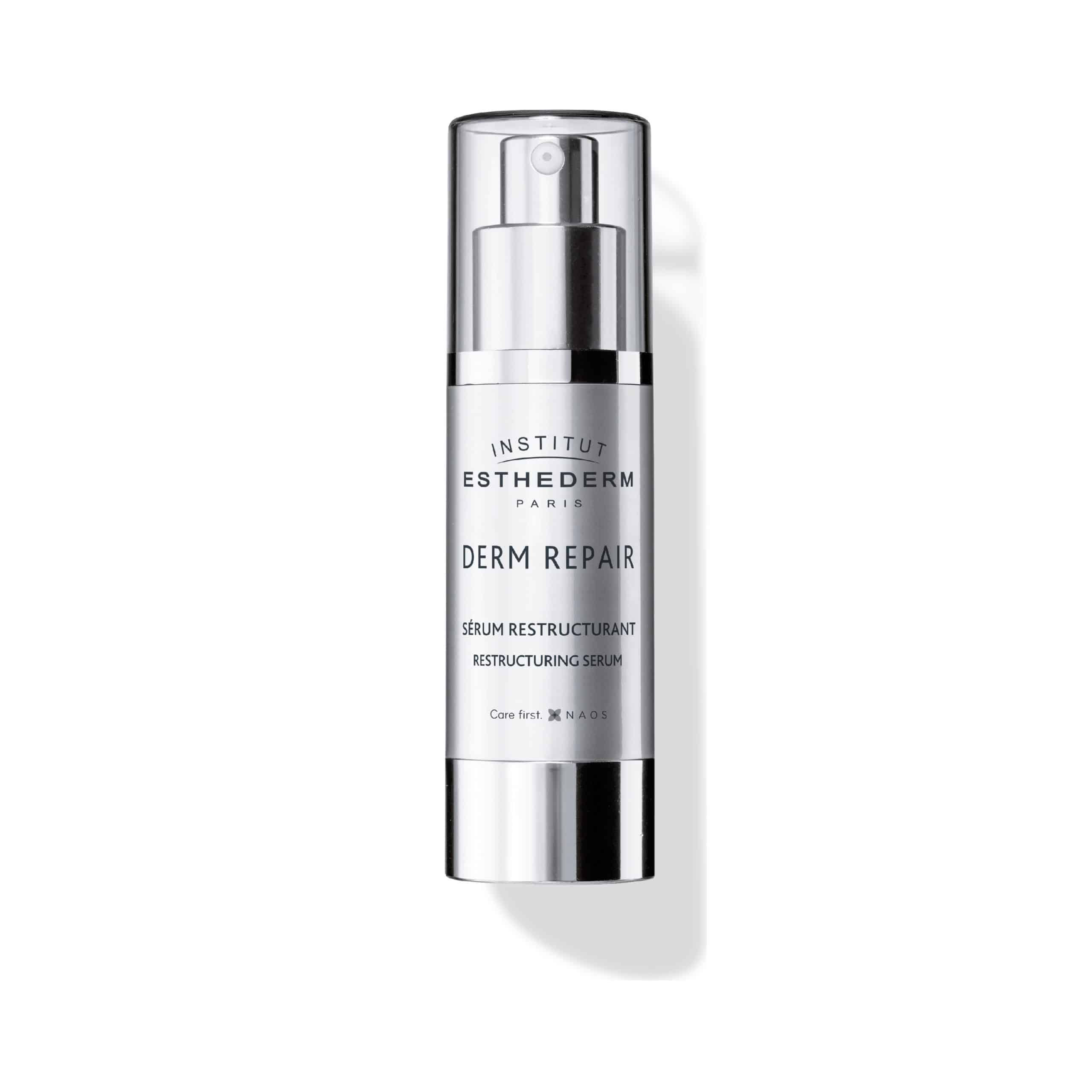 ESTHEDERM product photo, Active Repair Derm Repair Restructuring Serum 30ml, concentrated care for firmness and wrinkles