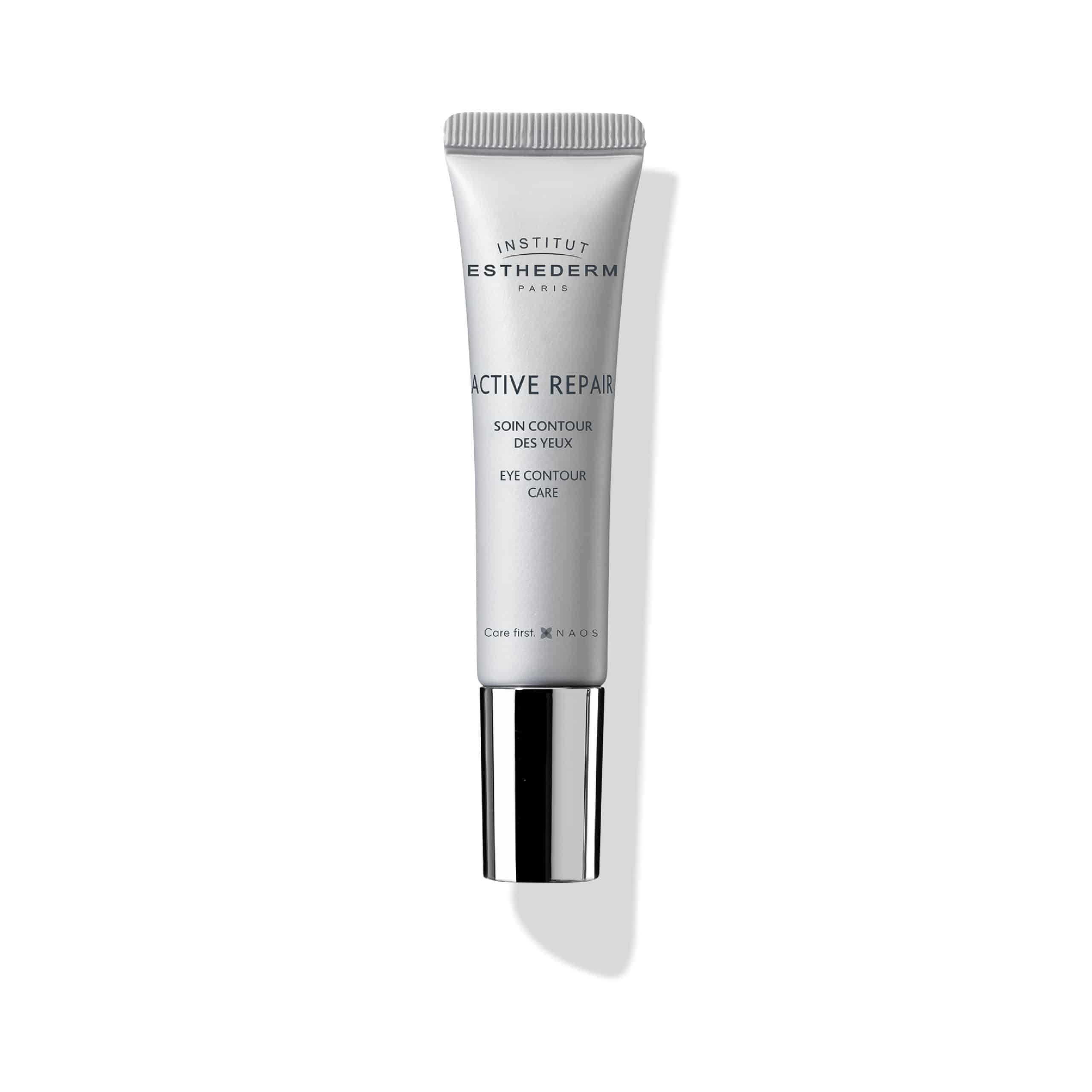 ESTHEDERM product photo, Active Repair Eye Contour Care 15ml, decongesting, dark circles and puffiness, all skin types