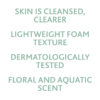 ESTHEDERM product photo, Osmoclean Pure Cleansing Foam 150ml, purifying cleanser, deep cleansing, face wash, all skin types