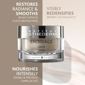 ESTHEDERM product photo, Excellage Cream 50ml, nourishes, redensifies, provides radiance, evens skin tone, mature skin