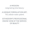 ESTHEDERM product photo, Lift & Repair Absolute Smoothing Cream 50ml, resculpts and shapes the face, anti-wrinkles, lifting
