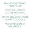 ESTHEDERM photo produit, Osmoclean Mousse Nettoyante Pureté 150ml, nettoyant purifiant en profondeur, tous types de peaux