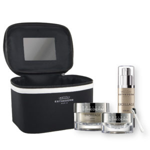ESTHEDERM product photo, Excellage Serum 30ml, Cream 50ml, Eye Contour 15ml, radiance, nutrition, deep wrinkles, firmness