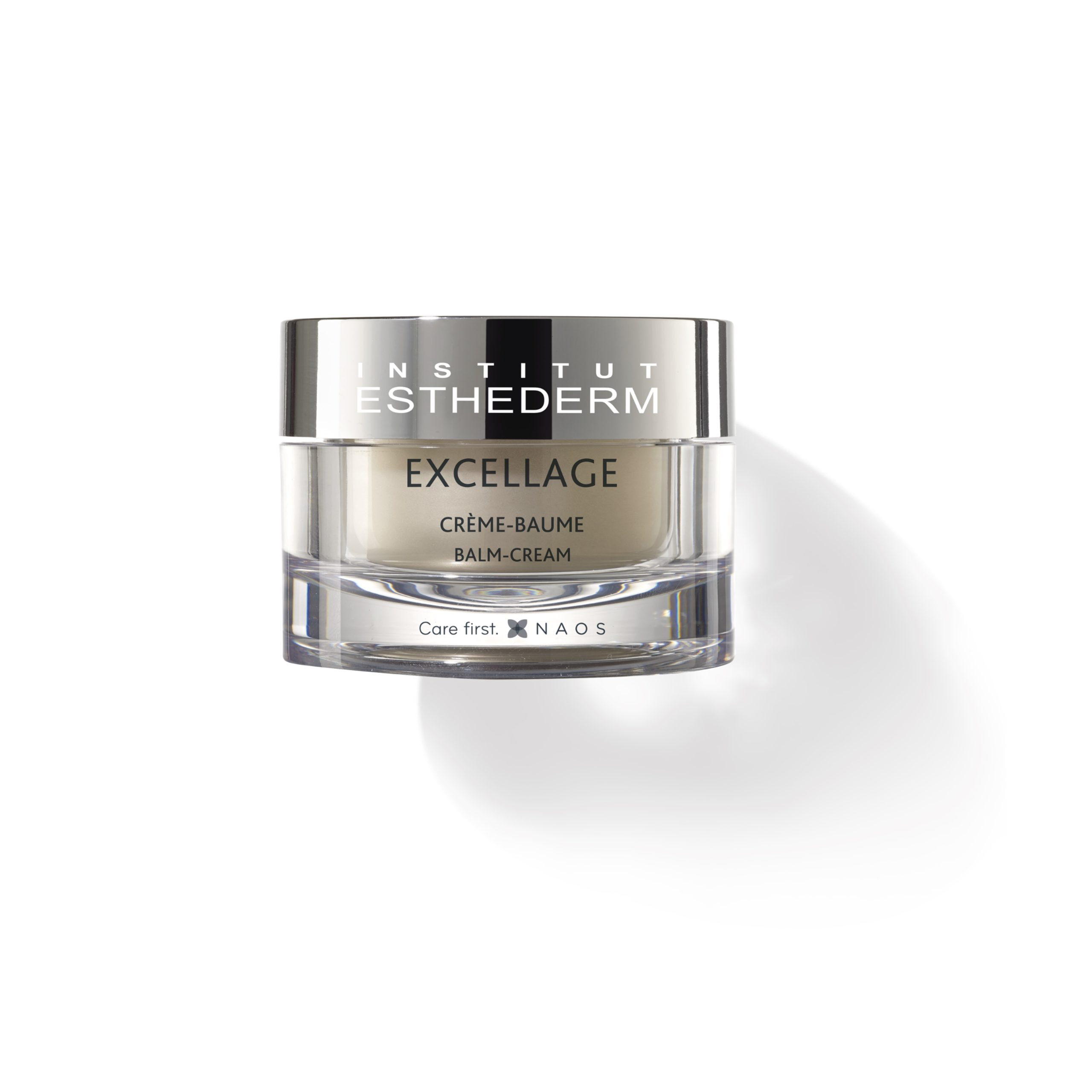 ESTHEDERM product photo, Excellage Cream-Balm 50ml, concentrated, nourishes, redensifies, restores radiance, unifies the complexion, mature skin