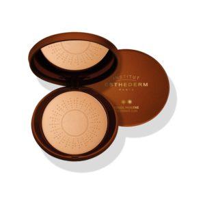 ESTHEDERM product photo, Protective Sunshine Care Powder 2 Suns 15g, bronzing powder, natural tan, makeup, all skin types