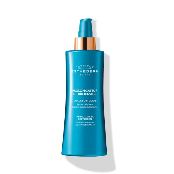 ESTHEDERM product photo, After-Sun Tan Enhancing Lotion 200ml, post-sun care, prolongs tan, longlasting tanning, radiance