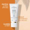ESTHEDERM photo produit, Sun Expert FPS 50+ 50ml, haute protection solaire, soin illuminateur, taches pigmentaires visibles
