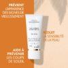 ESTHEDERM photo produit, Sun Ultimate Crème Visage FPS 30 50ml, protection solaire, soin solaire UVA UVB, peaux réactives