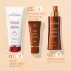 ESTHEDERM product photo, Intense Self-Tanning Body Gel 150ml, sunless tanning, natural looking tan, easy application